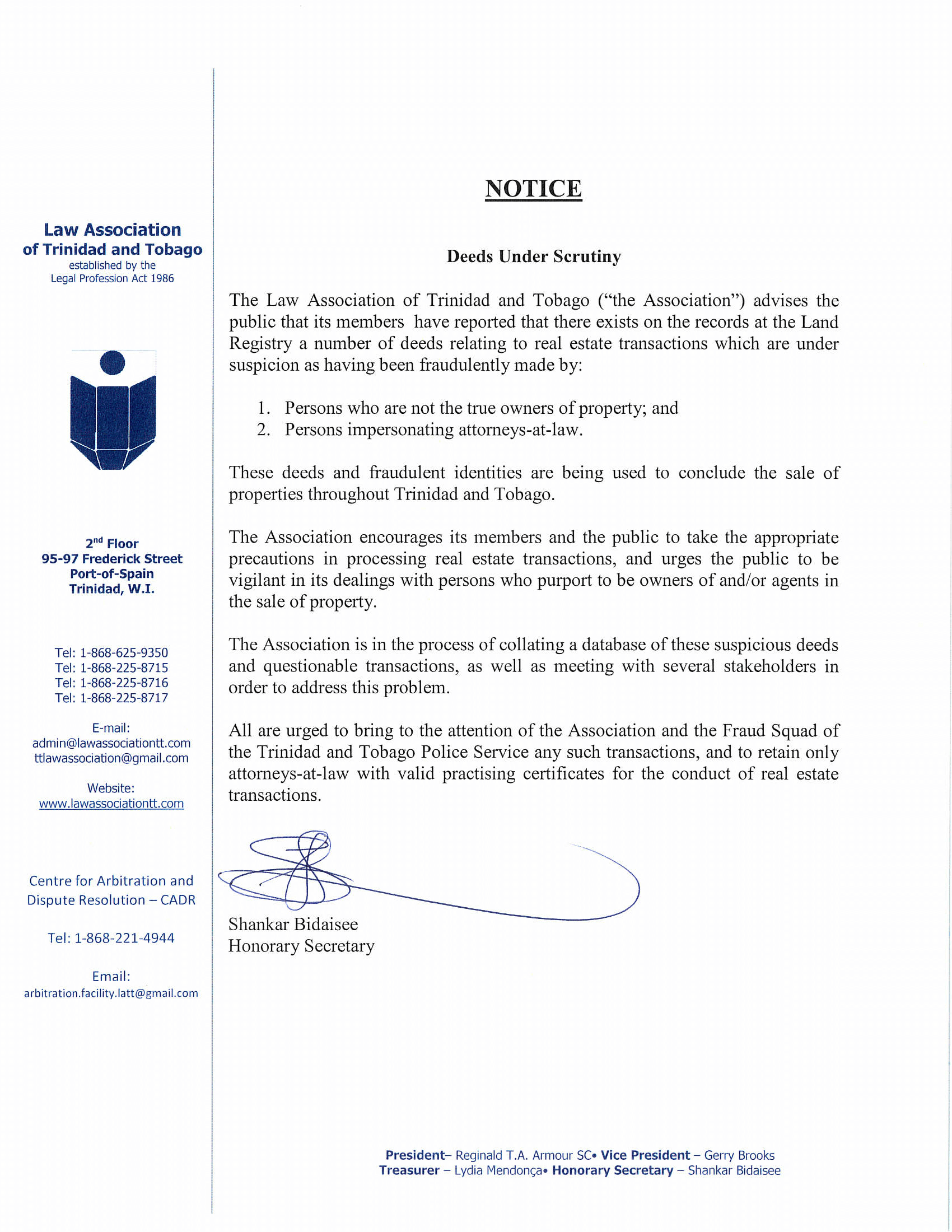 reply legal notice