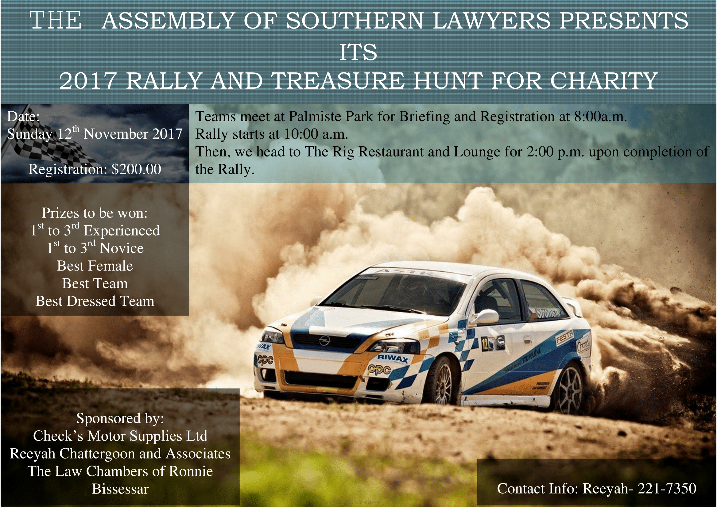 the assembly of southern lawyers 2017 rally and treasure hunt